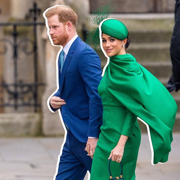 принц Гарри и Меган Маркл вместе