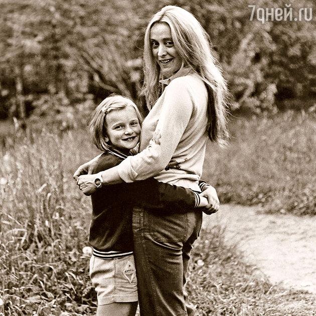 Анна Терехова с мамой