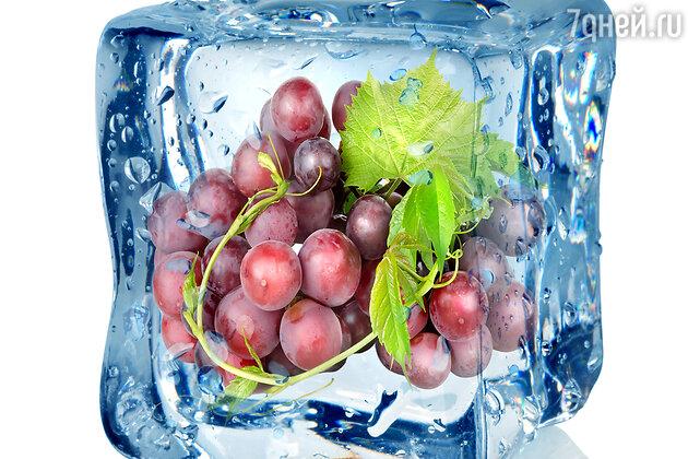 Замороженный красный виноград
