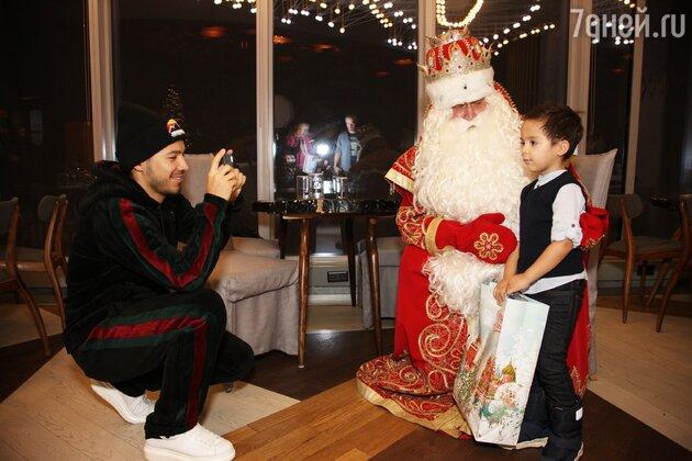 Зариф Норов с сыном Марком