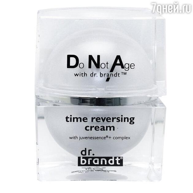 Интенсивно омолаживающий моделирующий лифтинг-крем для лица Time Reversing Cream, dr. brandt