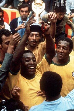 Пеле — трехкратный чемпион мира. 1970 год, Чемпионат мира в Мексике