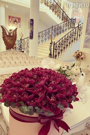 Цветы Анастасии Волочковой