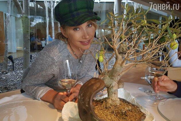 Елена Воробей в Испании