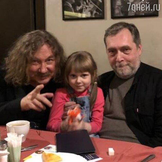 Игорь Николаев, Никита Высоцкий с дочерью Ниной