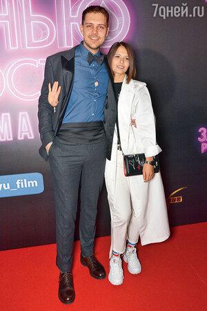 Милош Бикович с Любовью Аксеновой