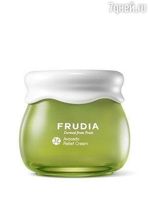 Крем для лица с мадекассосидом Avocado Relief Cream, Frudia