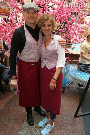 сения Алферова и Егор Бероев