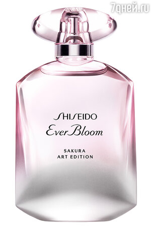 Аромат Ever Bloom Sakura Art Edition, Shiseido