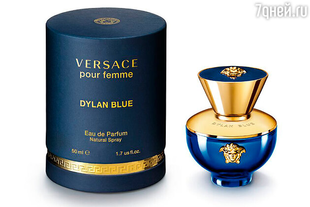 Аромат Dylan Blue Pour Femme, Versace