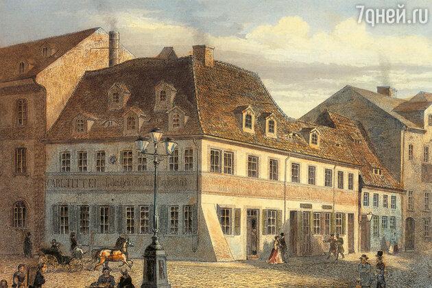Дело шло к свадьбе — по традиции Эрнестина посетила мать Шумана в ее доме в Цвиккау