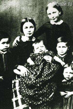 После того как Шумана увезли в лечебницу, со всем его немалым выводком детей возился «дядя Брамс»