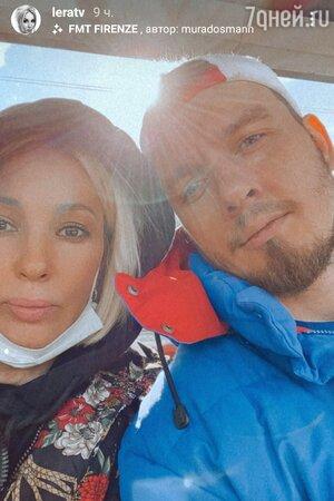 Лера Кудрявцева с мужем — фото