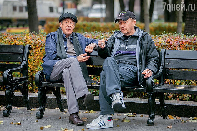 Михаил Ефремов и Олег Фомин