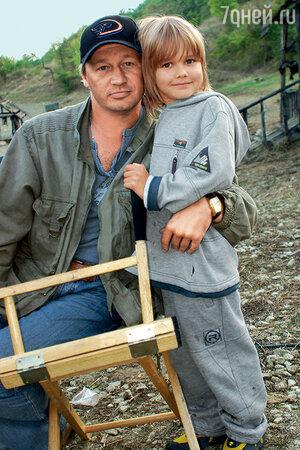 Олег Фомин с сыном