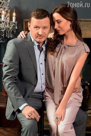Олег Фомин с женой