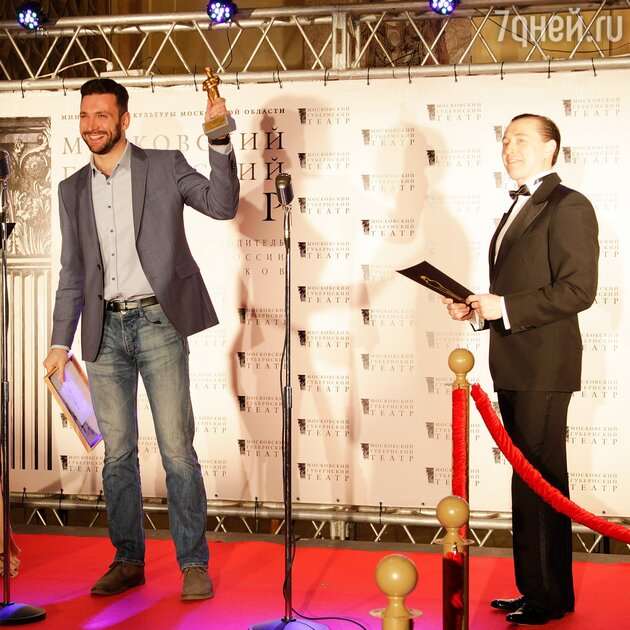 Сергей Безруков и Антон Хабаров