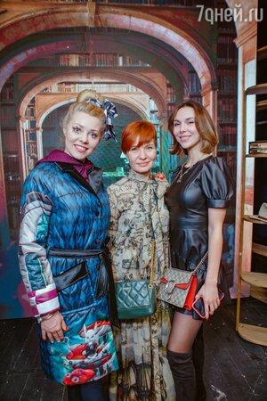 Марина Дрождина, Наталья Душегрея, Ева Авеева