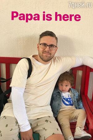 Петр Максаков с сыном Анатолием
