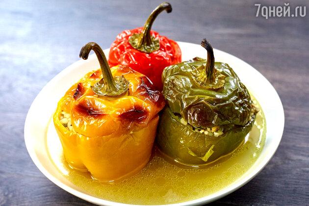 Фаршированные перцы: рецепт от шеф-повара Александра Бельковича. фото