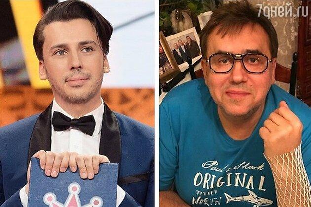 Станислав Садальский и Максим Галкин