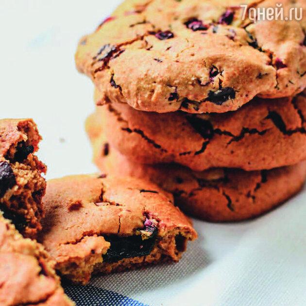 Свекольное печенье: пошаговый рецепт от фудблогера Катерины Счастливой. фото