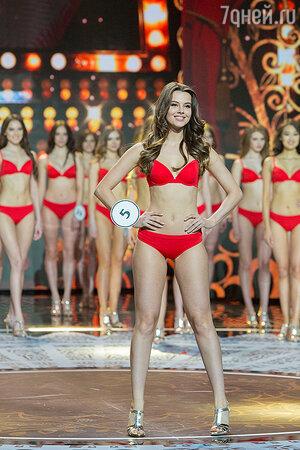 Участница конкурса «Мисс Россия 2018»