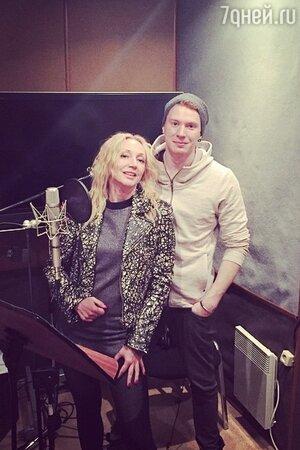 Кристина Орбакайте с сыном Никитой