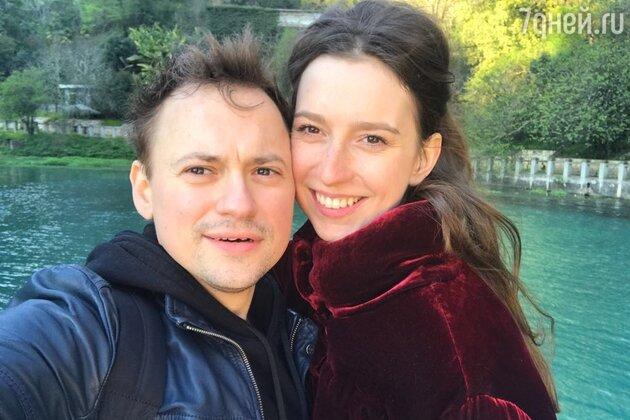Андрей Гайдулян с женой Александрой