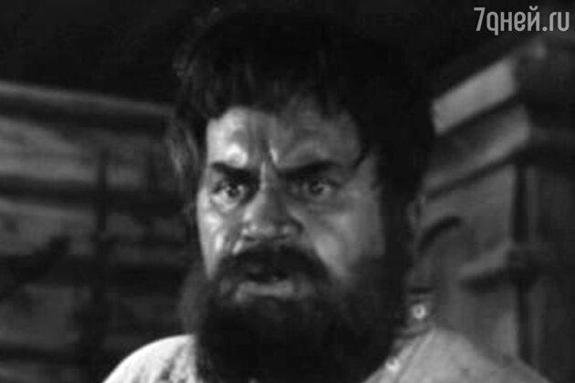 Виктор Чекмарев в фильме «Угрюм-река». 1968 г.