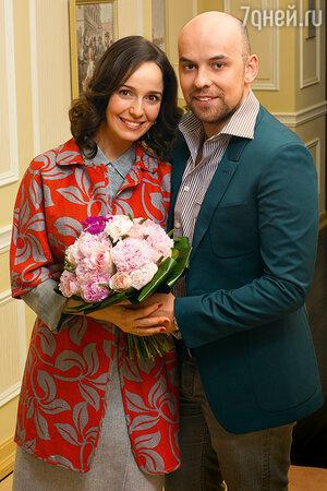 Валерия Ланская с мужем Стасом Ивановым