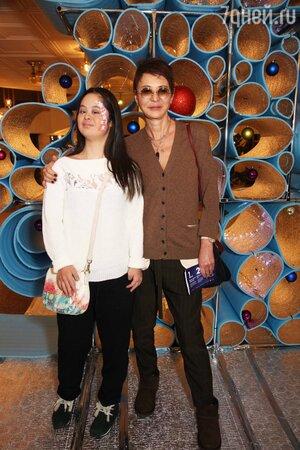 Ирина Хакамада с дочкой Марией