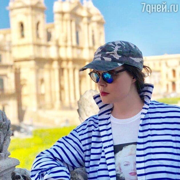 Екатерина Андреева часто делится с подписчиками фото из путешествий