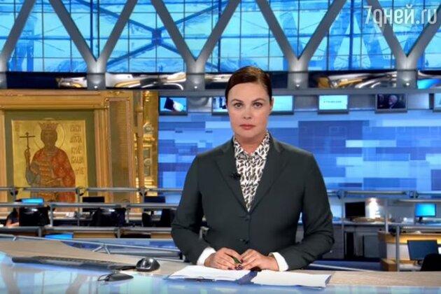 """Екатерину Андрееву в программе """"Время"""" вся страна привыкла видеть с гладкой прической и собранными волосами"""