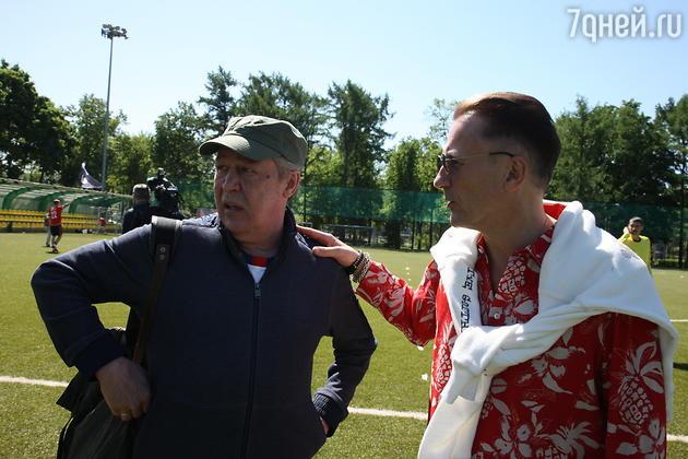 Олег Меньшиков, Михаил Ефремов