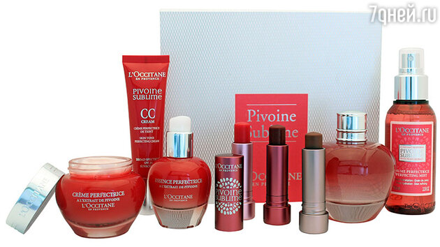 Линия Pivoine Sublime от L`Occitane