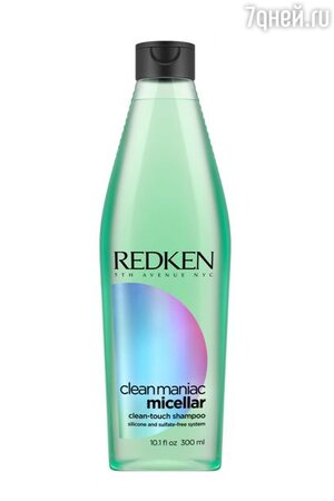 Шампунь с мицеллами без сульфатов и силиконов Clean Maniac Micellar, Redken
