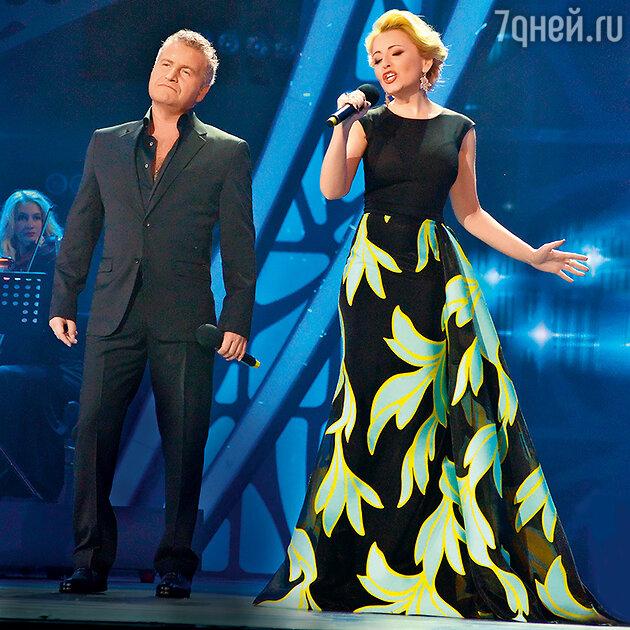 Анжелика Варум с Леонидом Агутиным
