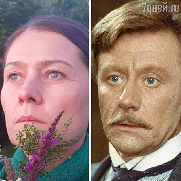 Мария Голубкина и Андрей Миронов