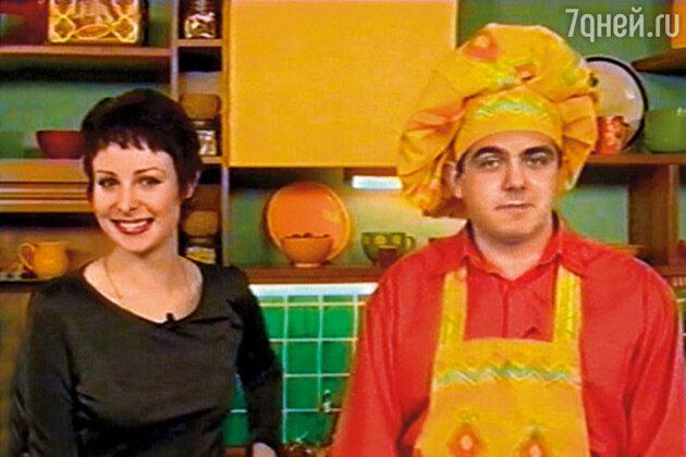 Мы с Васей — ведущие кулинарного шоу на болгарском телевидении