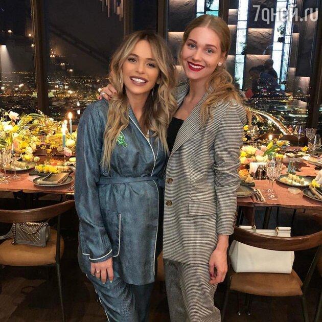 Кристина Асмус и Анна Хилькевич