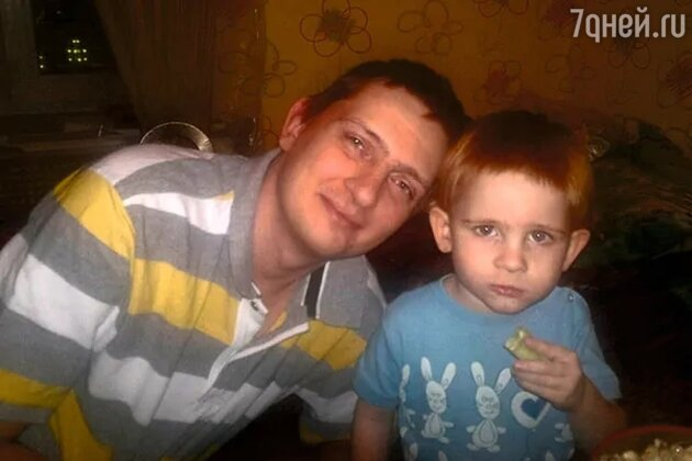Племянник Аллы Пугачевой с сыном Женей
