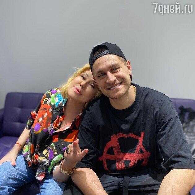 Любовь Успенская и Давид Манукян