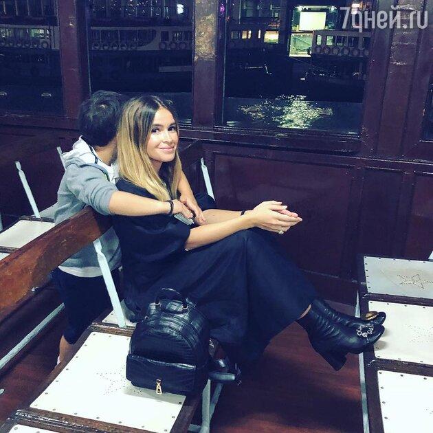 Мирослава Дума с сыном Георгием