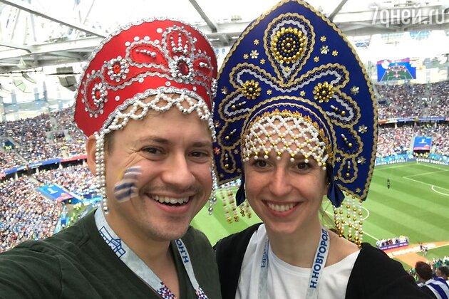 Андрей Гайдулян с девушкой Александрой