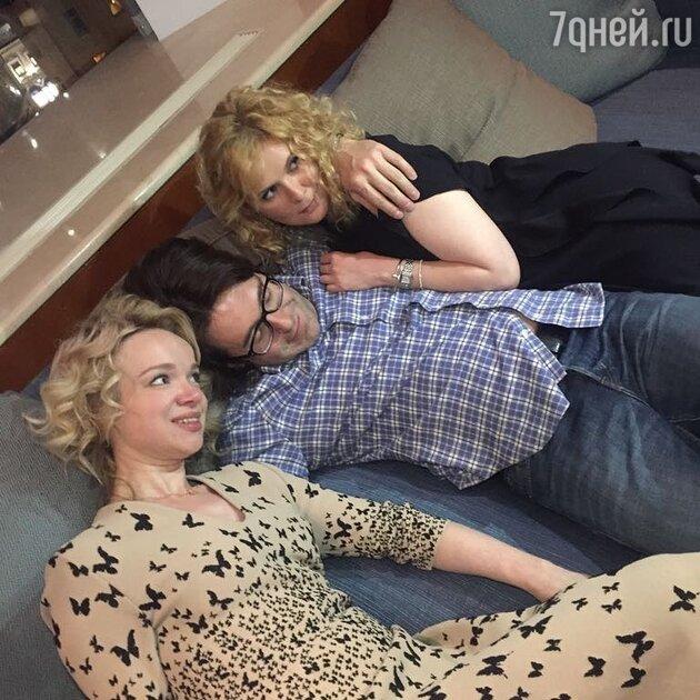 Виталина Цымбалюк-Романовская, Андрей Малахов и его жена Наталья Шкулева
