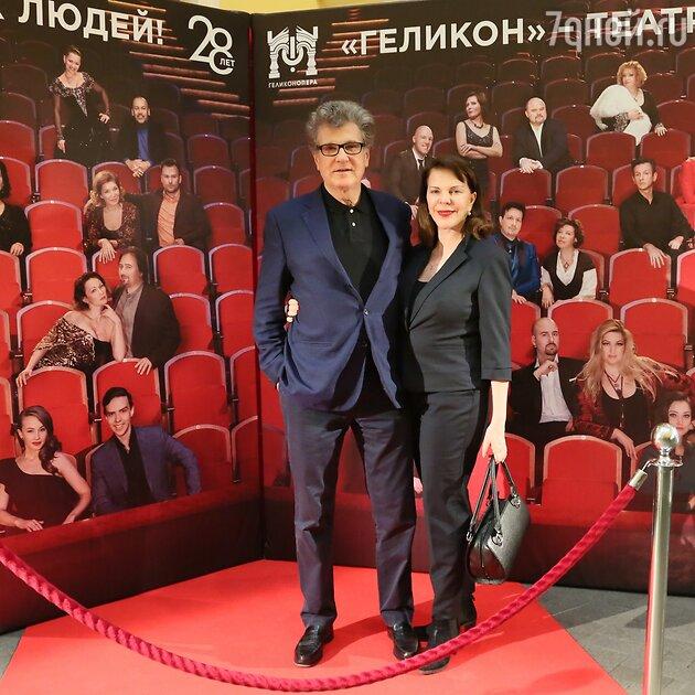 Игорь Костолевский с супругой