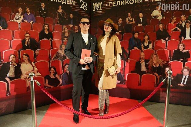 Эвелина Бледанс и Александр Буйнов