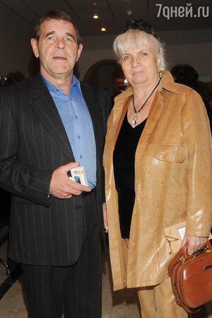 Алексей Булдаков с женой