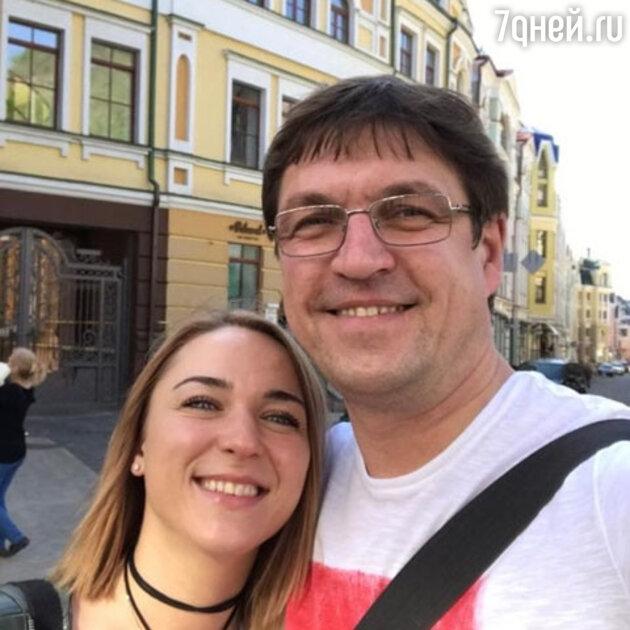 Дмитрий Орлов с Натальей
